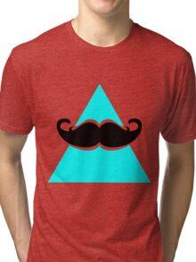 Hipster Triangle Tri-blend T-Shirt