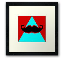 Hipster Triangle Framed Print