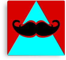 Hipster Triangle Canvas Print