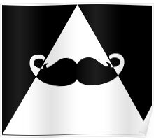 Hipster Triangle Poster