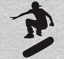 skateboard : silhouettes (LARGE) by asyrum
