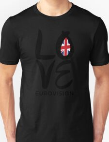 LOVE Eurovision [United Kingdom] T-Shirt