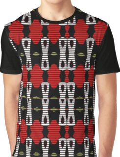 Red and black blinds. Graphic T-Shirt