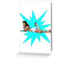 Lone Star Doll Greeting Card