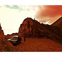 Mountain Drive Photographic Print