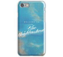 welcome to blue neighborhood  iPhone Case/Skin