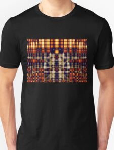 Abstract Lines in Citrus Unisex T-Shirt