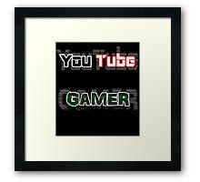 YouTube GAMER Framed Print
