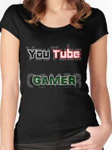 YouTube GAMER Women's Fitted Scoop T-Shirt