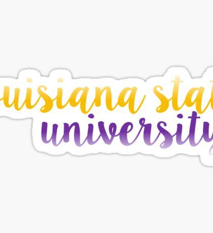 Louisiana State - LSU Sticker