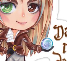 David Bowie Dance Magic Dance Labyrinth Chibi Sticker