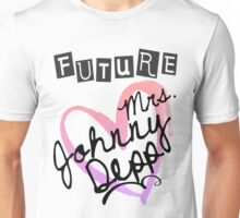 Future Mrs. Johnny Depp Unisex T-Shirt
