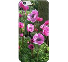 Keukenhof Collage featuring Pink Anemones iPhone Case/Skin