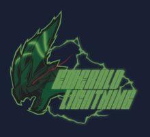 Monster Hunter All Stars - Emerald Lightning by bleachedink