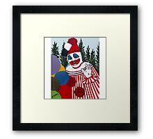 Pogo The Clown Framed Print