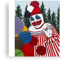 Pogo The Clown Canvas Print