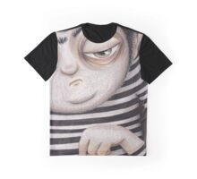Allen Kazam  - Close-up Graphic T-Shirt