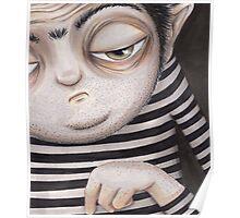 Allen Kazam  - Close-up Poster