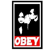 obey jj Photographic Print