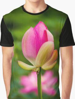 Lotus bud Graphic T-Shirt