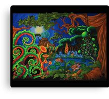 Botanic TV Canvas Print