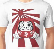 Daruma, Minimalist Style Unisex T-Shirt