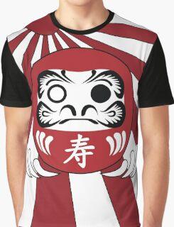 Daruma, Minimalist Style Graphic T-Shirt