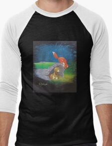 Fox and the Hound Men's Baseball ¾ T-Shirt