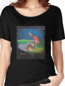 Fox and the Hound Women's Relaxed Fit T-Shirt