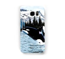 Leaping Whales Samsung Galaxy Case/Skin