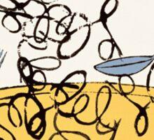 Andy Warhol Spaghetti Sticker