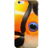 Quaint Bird: Portrait of a Toco Toucan at Iguassu, Brazil. iPhone Case/Skin
