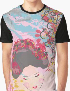 Geisha Girl Graphic T-Shirt
