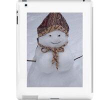 Snow Woman  iPad Case/Skin