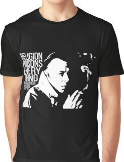 Christopher Hitchens - Religion Graphic T-Shirt