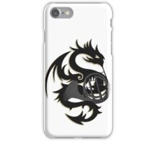 Yin and Yang Horns and Dragons iPhone Case/Skin