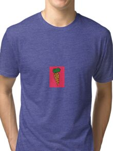 Sliced Carrot Tri-blend T-Shirt
