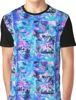 Flower in Black Square 11- Digitally Altered Print  Graphic T-Shirt
