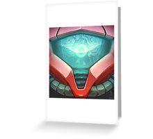 0017 - Samus Greeting Card