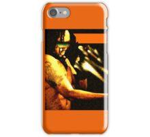'L A S E R | T. V.' iPhone Case/Skin