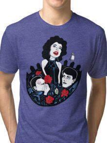 She Wore Blue Velvet  Tri-blend T-Shirt
