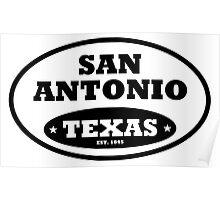 San Antonio Poster