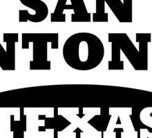San Antonio Sticker