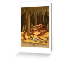 The Hobbit Redesign Greeting Card