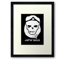 Justice Skulls: The Wonder Framed Print