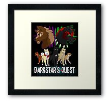Darkstar's Quest  Framed Print