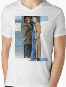 DoctorDonna Mens V-Neck T-Shirt