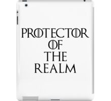 Protector Of The Realm iPad Case/Skin