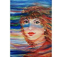 Colors of the Wind - Painting Photographic Print