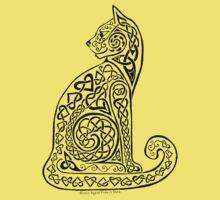 Celtic Cat #8 Tee Baby Tee